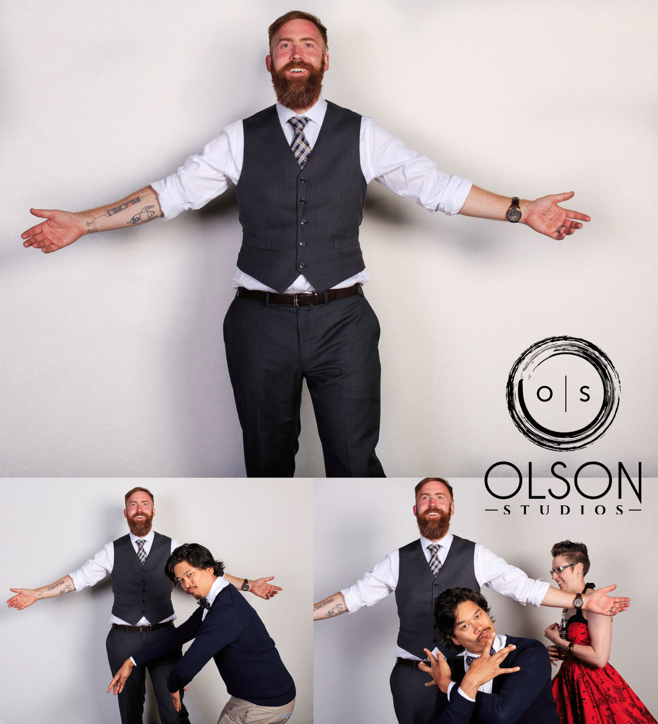 Robin & Alysse - Photo Booth - Wedding Photography - Red Deer & Calgary Alberta (19)