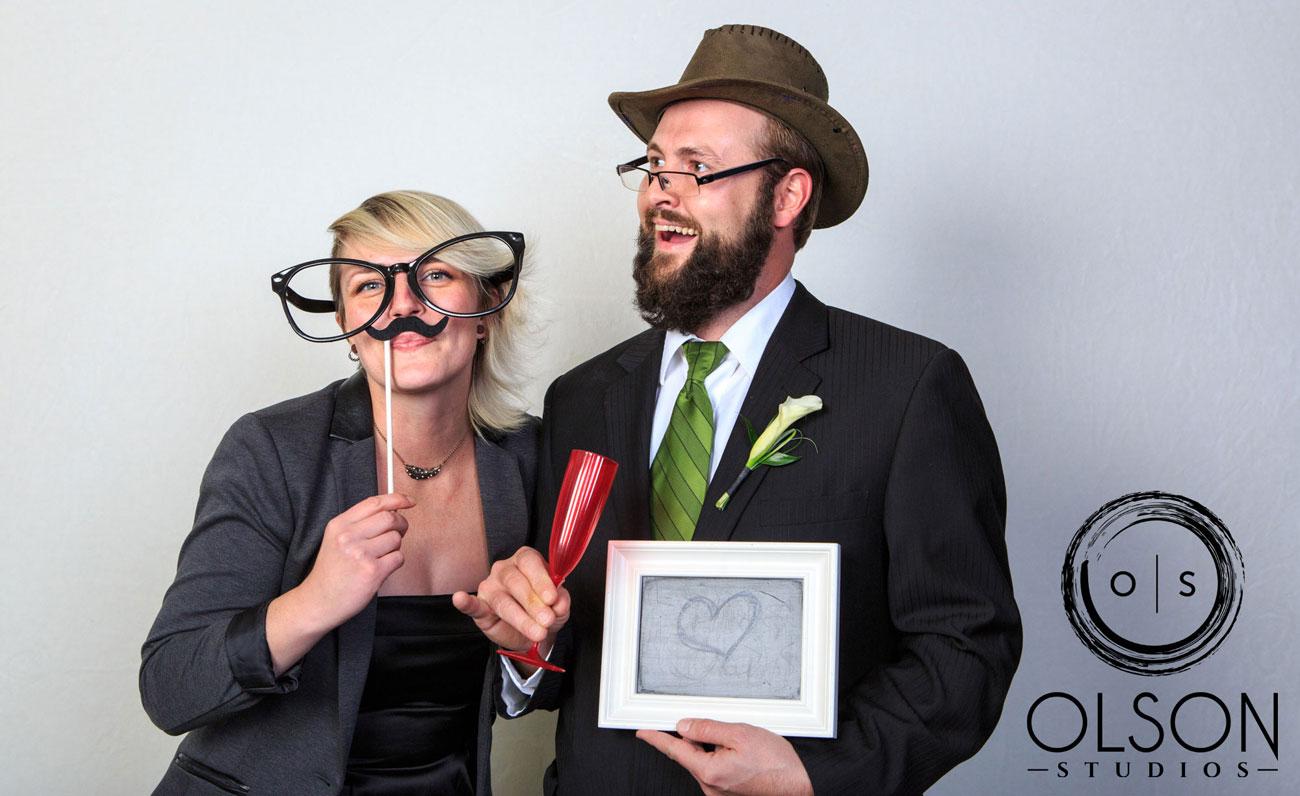 Beth & Troy  - Photo Booth - Sylvan Lake, Alberta Wedding Photography (14)