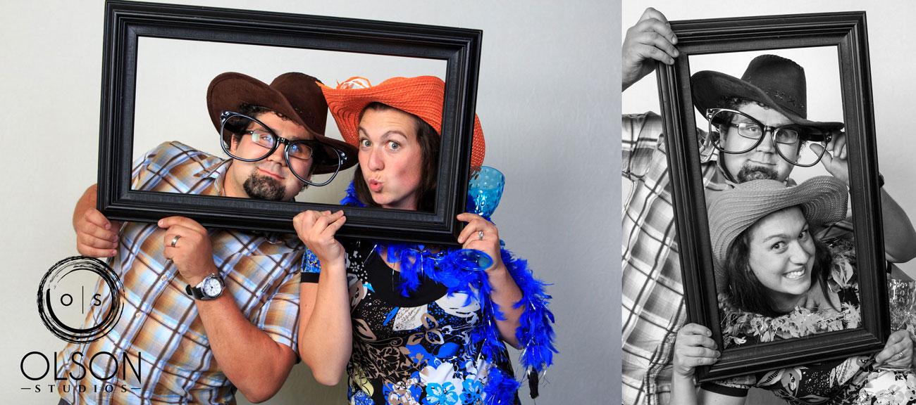 Beth & Troy  - Photo Booth - Sylvan Lake, Alberta Wedding Photography (23)
