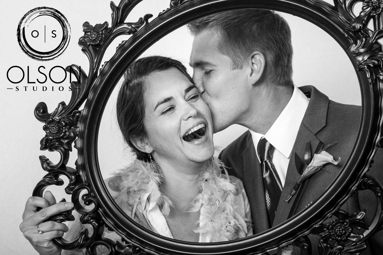 Beth & Troy  - Photo Booth - Sylvan Lake, Alberta Wedding Photography (7)