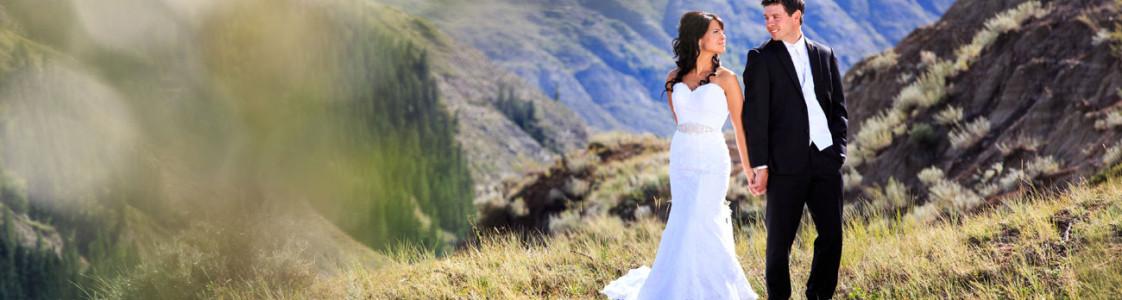 Myranda & Cole {Alberta Badland wedding}