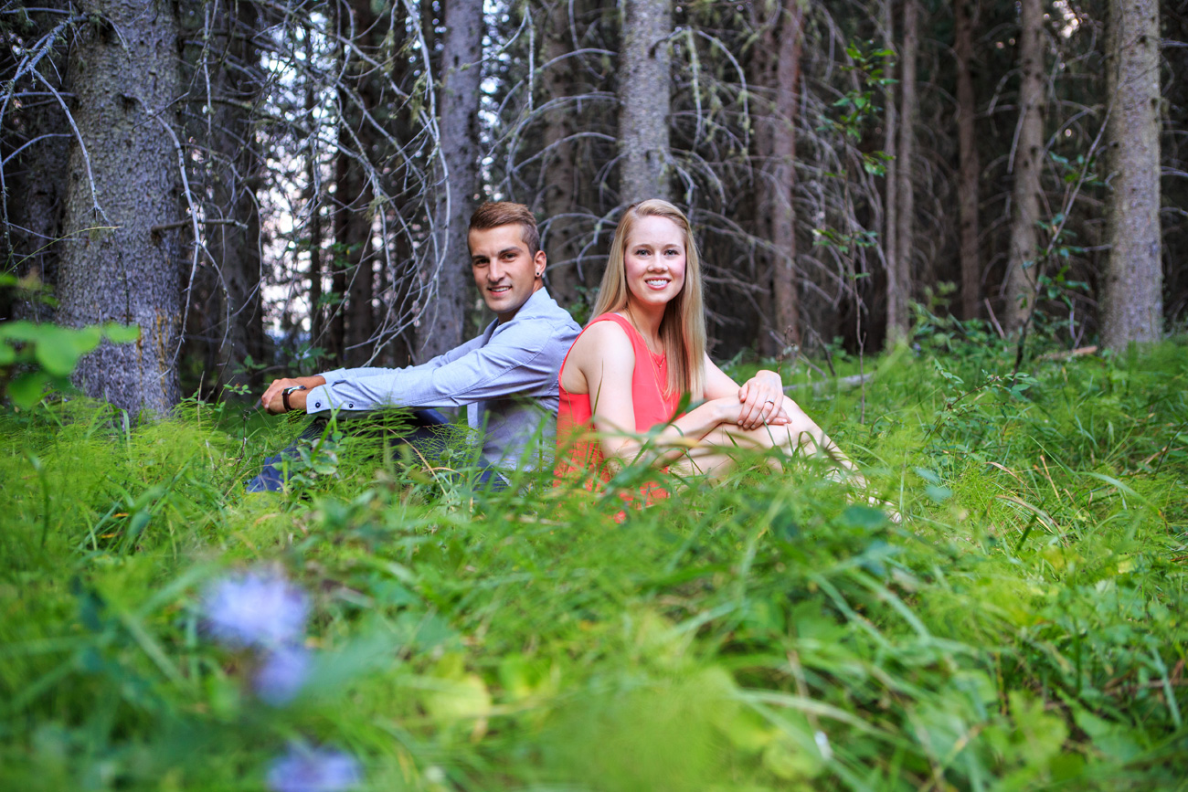 Quinn & Nathan -  Engagement & Wedding Photography - Rocky Mountain House, Alberta (14)