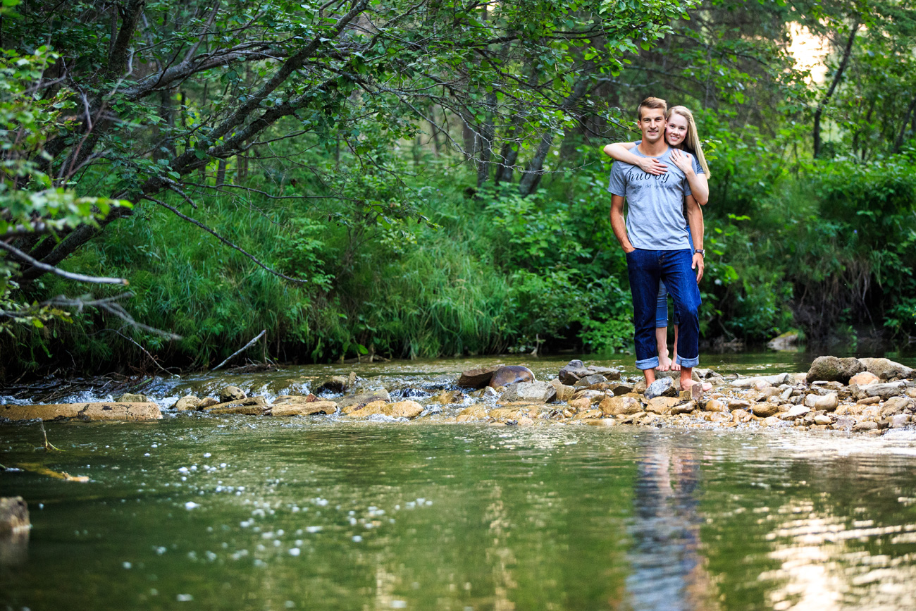 Quinn & Nathan -  Engagement & Wedding Photography - Rocky Mountain House, Alberta (3)