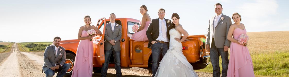 Jessica & Sheldon – Olds, Alberta Wedding Photography