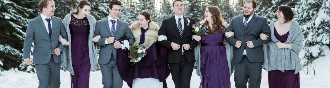 Cathy & Lucas – Nordegg Wedding